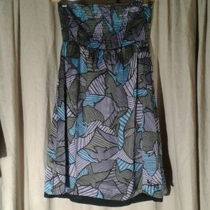 Lost Juniors Empire Waisted Mini Dress